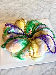 Sweet LaLa's Bakery is making King Cakes for this year's Mardi Gras season. Cakes are available only as special orders.