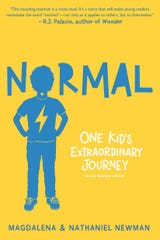 """""""Normal: One Kid's Extraordinary Journey"""" by Magdalena and Nathaniel Newman."""