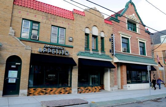 Glorioso's Appetito, the cooking school and event space, is at 1020 E. Brady St., in what was Glorioso's Italian Market's original location.