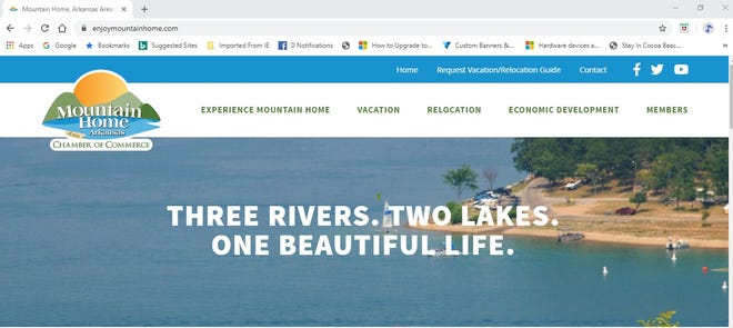 The Mountain Home Area Chamber of Commerce's website has a new look to it.
