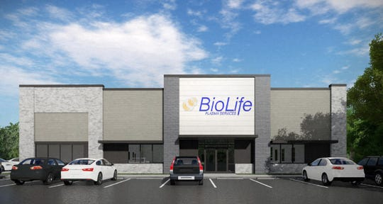 BioLife Plasma Services, a plasma donation company, will likely open its first metro Detroit location in Livonia.