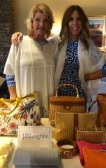 Nancy Skonazny and Lesley Ramirez enjoyed the shopping portion of Hidden Harvest's game day.