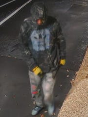 The Escambia County Sheriff's Office has requested the public's assistance identifying a burglary suspect.