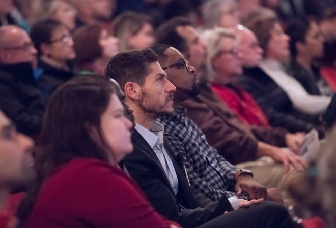 CivicCon at the Saenger Theatre in downtown Pensacola on Monday, Jan. 27, 2020.