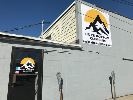 Rock Bottom Climbing is located at 28 Baltimore Street (Rear) in Hanover, they hope to open in February 2020.