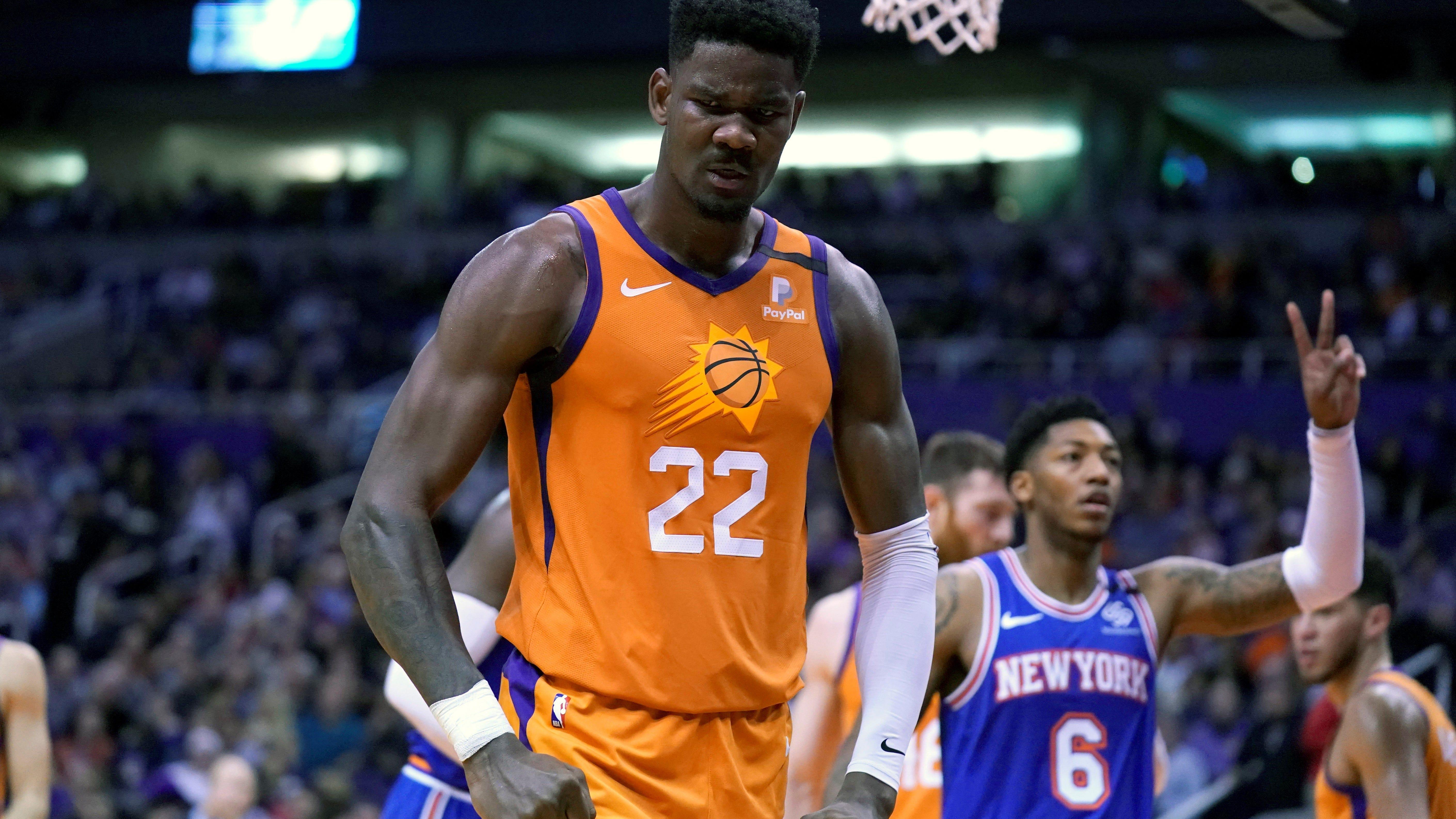 Phoenix Suns Phoenix Suns in Orlando: Should Deandre Ayton, not Devin Booker ...