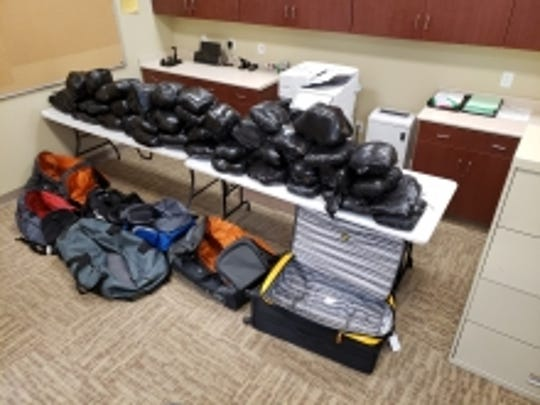 The Arizona Department of Public Safety seized 362 pounds of meth on Jan. 24, 2020.