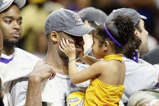 La conexión entre Kobe Bryant y su hija Gianna era enorme, incluso desde que ella era una bebé.