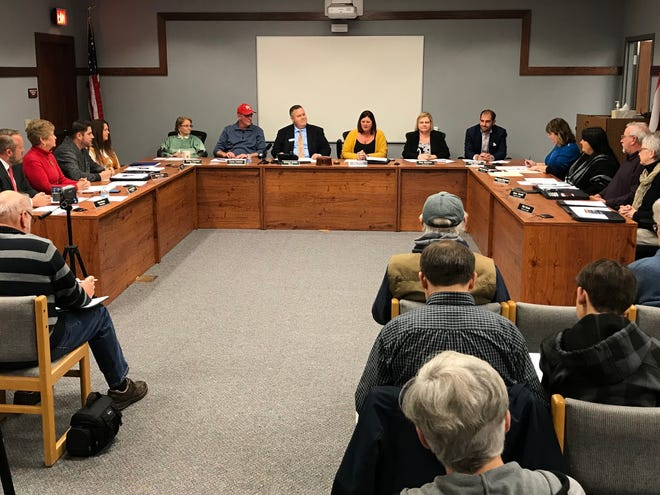 The Port Clinton City Council chambers were returned back to the original layout as they began the new year in 2020.
