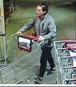 Southern Regional Police are trying to identify a male and female from photos in connection to separate retail thefts at the Giant storein Shrewsbury..