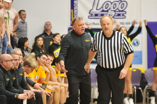 Northeastern head coach Brent Ross said he doesn't believe the IHSAA should force a shot clock on teams.