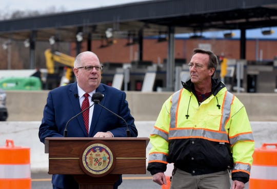 Governor Larry Hogan announced Jan. 28, 2020, that all lanes at the Chesapeake Bay Bridge will be open by summer 2020 as deck work on the westbound right lane is completed a year ahead of schedule and all-electronic tolling goes live.
