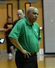 Parkside head coach Warren White calls a timeout on Tuesday, Jan. 28, 2020.