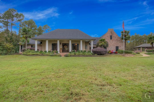332 Cope Drive in south Shreveport sits on 2.89 acres.