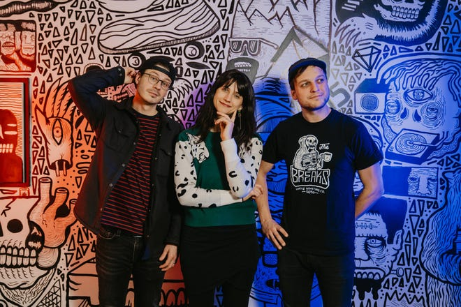 (From left) Wes Eisenhauer, Becca Eisenhauer and Isaac Show have officially branded their photography and videography collaboration as Kickturn Studio.