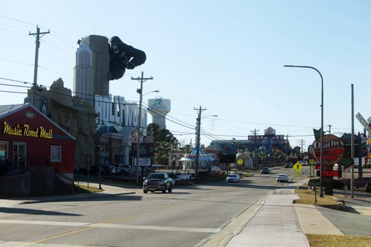 A portion of 76 Country Boulevard in Branson is shown in a photo taken Jan. 19.