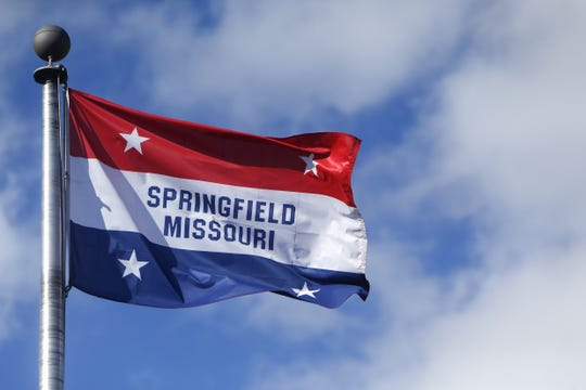 """The existing flag of the city of Springfield has been around since 1938.  The idea for the city's first flag came from William Paul Harris, a longtime Commercial Street businessman known as """"Mr. Commercial Street,"""" and the design was by a senior at Springfield High School."""