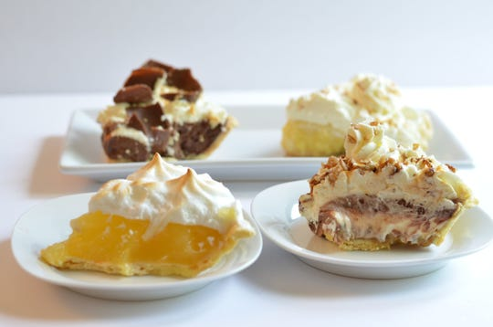 Village Inn serves American comfort foods like pancakes and pot roast, but it is especially well-known for its tall slices of classic pies including lemon meringue and French silk chocolate.