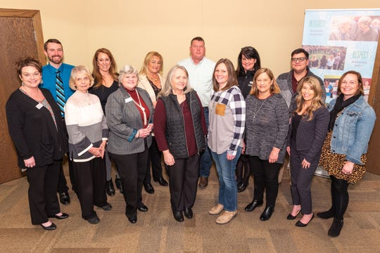 Representatives from many of the agencies that received funding through the Rural Vitality Grants gathered at the CFO office in Springfield. A total of $209,631 was distributed to 13 nonprofit organizations serving rural communities across central and southern Missouri.