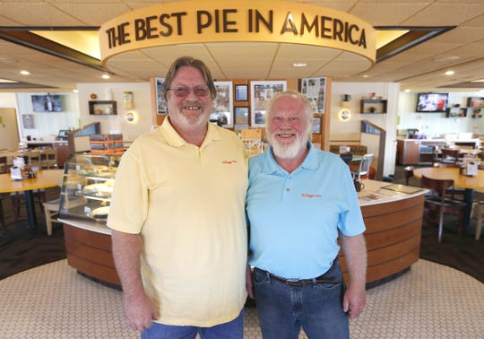 Bill and Bob Greene, co-owners of Village Inn restaurants in Springfield and the surrounding area, threw a 50th-anniversary bash celebrating a half-century in business in Aug. 2015.