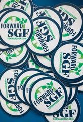 Forward SGF decals.