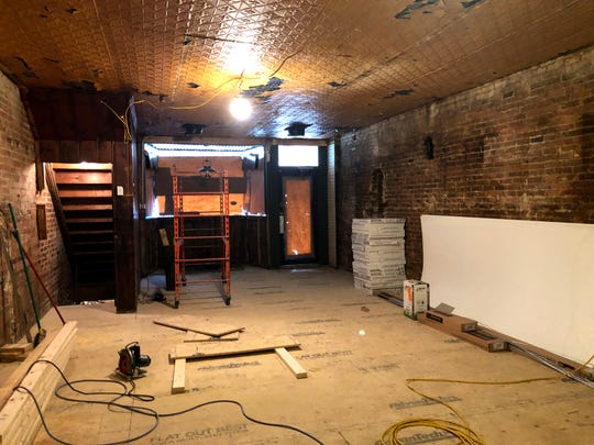 Mandi Smack plans on opening her new burger restaurant called The River by April at the old Jake's Bar and Grill on Wayne Avenue in Waynesboro.