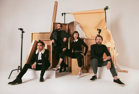 L.A. bandthe SilversunPickups will take the stage Feb. 4 at theVentura Theater. The band includes from left drummer Christopher Guanlao, keyboardist Joe Lester, bassist Nikki Monninger, and and lead singer Brian Aubert.