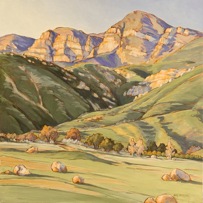 """GailPidduck's""""Koenigstein"""" is one of the works in the the Ojai Valley Museum's exhibition """"22 Miles: Ojai Valley Landscapes."""" A free opening reception is planned for Feb. 1."""