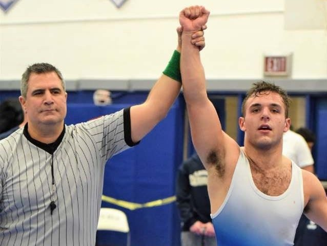 Michael Tosi was voted lohud Wrestler of the Week.