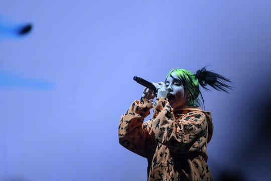 This year's Grammy Awards queen, Billie Eilish, will be one of the headliners at Firefly Music Festival in Dover this year.