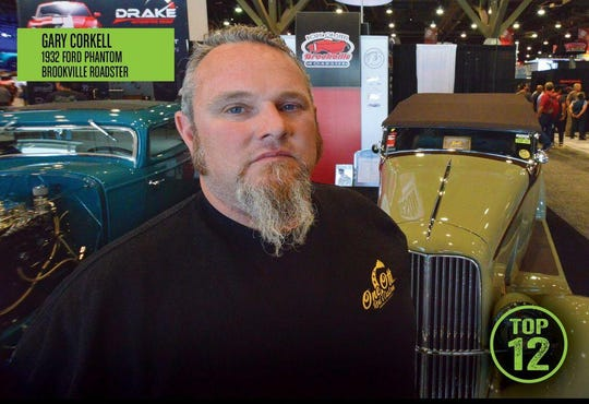 Gary Corkell and his team will be featured on the History Channel for finishing in the top 12 of the SEMA Battle of the Builders. Kristina Young said the flyer photo misprinted the name of the vehicle. It should say 1932 Ford Phanton.