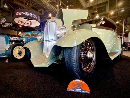 One Off Rod and Custom in Middletown's 1932 Ford Phanton build finished in the top 12 of the SEMA Battle of the Builders.