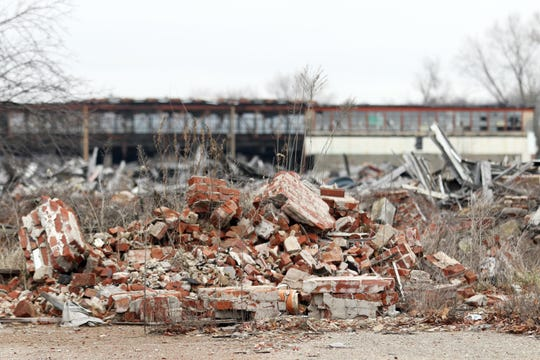 The ruins of the former Lear factory have been a source of controversy in the city for years. However, on Tuesday, Mayor Don Mason told the land bank the city is ready to acquire and redevelop the area.