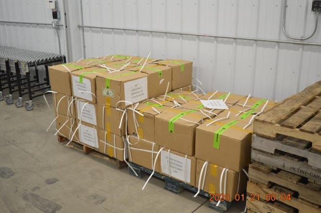 A CBP investigation found 45 cartons filled with singles, which were confirmed to be fake by the Secret Service.