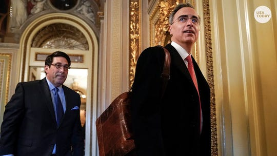 Senators' questions at Trump impeachment trial show most minds are made up