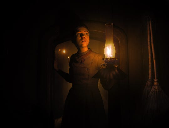 """""""Gretel & Hansel"""": Complete with unnerving visuals, a nuanced narrative and an intriguingly empowering story, the fairy-tale reimagining stars Sophia Lillis as one of two youngsters lured into a witch's home with the promise of an epic feast."""