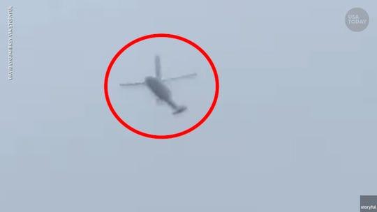 Kobe Bryant helicopter circled Glendale before deadly crash