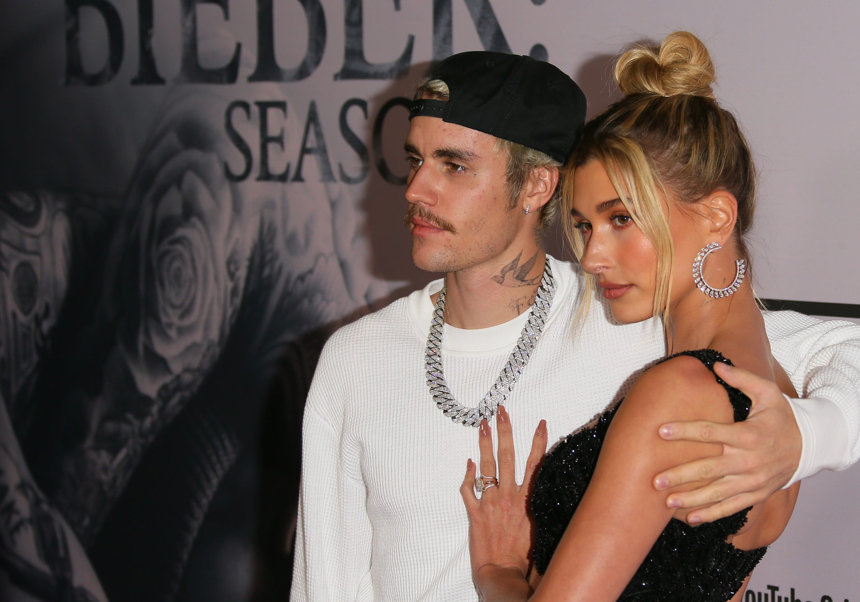 Justin Bieber shares photos of baptism with wife Hailey Baldwin