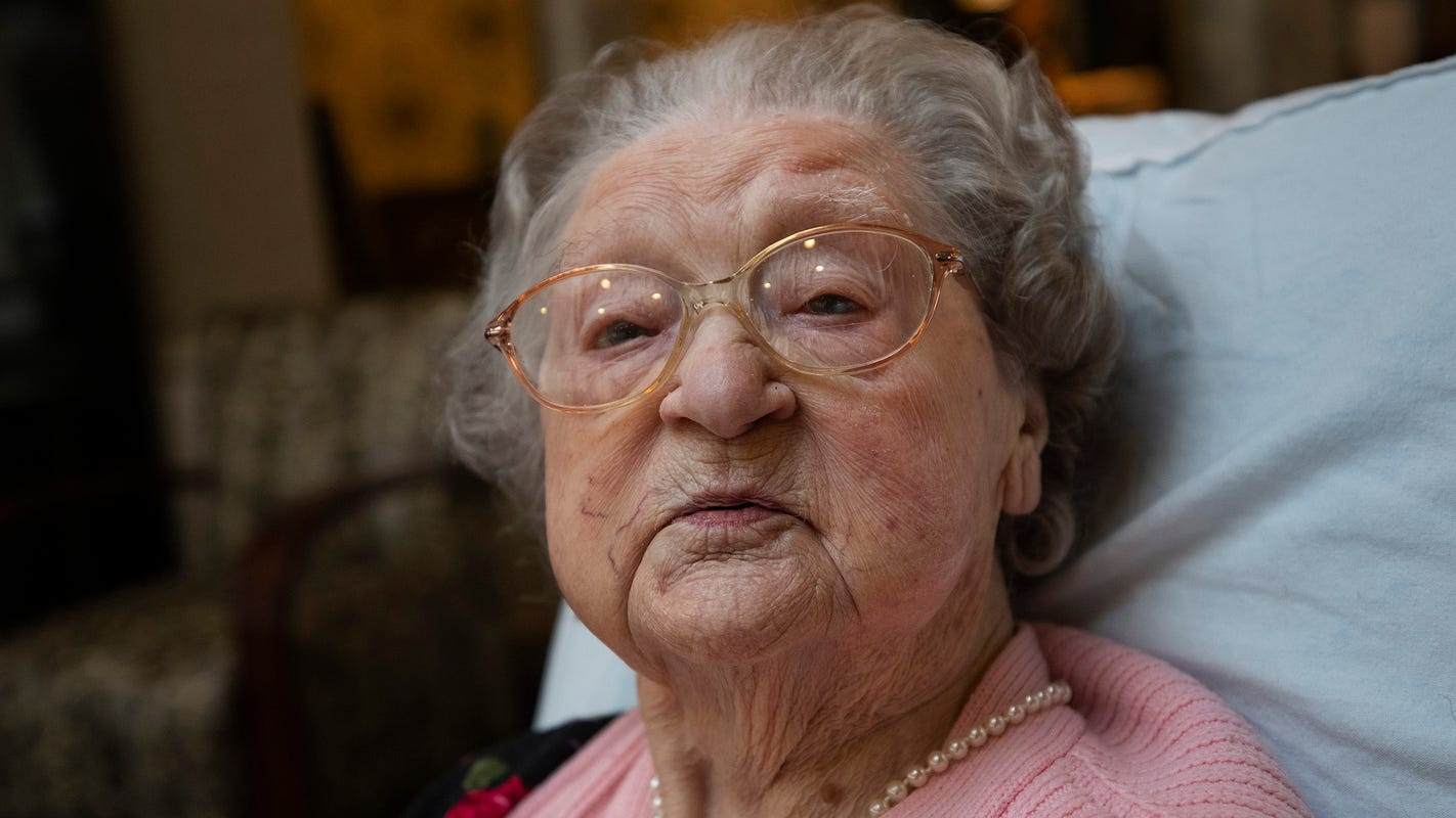 'She is amazing': A New Jersey woman beat COVID-19, then turned 110