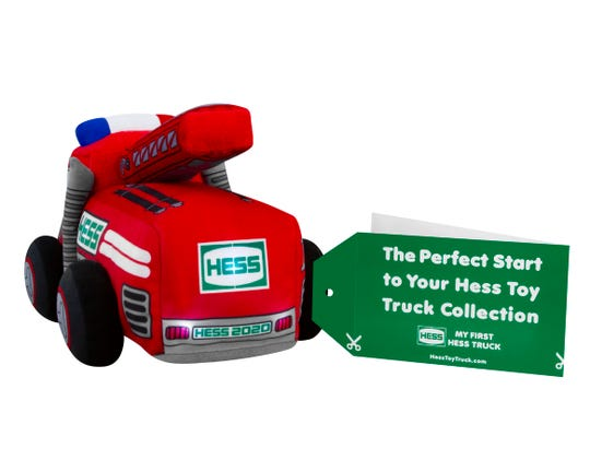 This Hess truck is designed for babies.