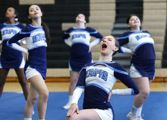 Rams Invitational cheerleading competition held at Southern Regional High School, Sunday, January 26, 2020. Manahawkin,NJ.  Noah K. Murray-Correspondent/Asbury Park Press