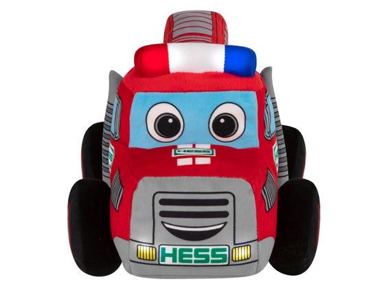 It's a Baby Hess truck! Aww.