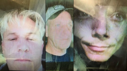 Three subjects sought by the Abilene Police Department in relation to an investigation.