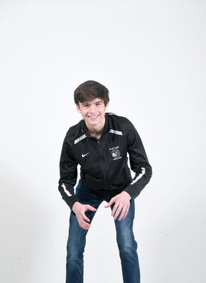 Stone Shapiro is a sophomore wrestler for North Buncombe High School.