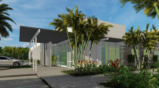 This artist's rendering depicts the surgical suite expansion at Melbourne Regional Medical Center.