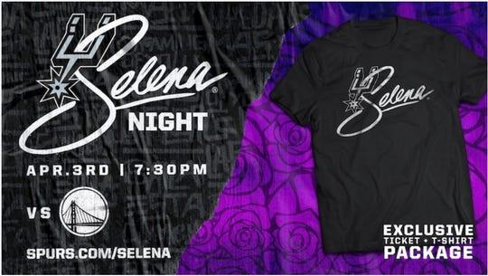 The San Antonio Spurs are hosting Selena Night on April 3, 2020.