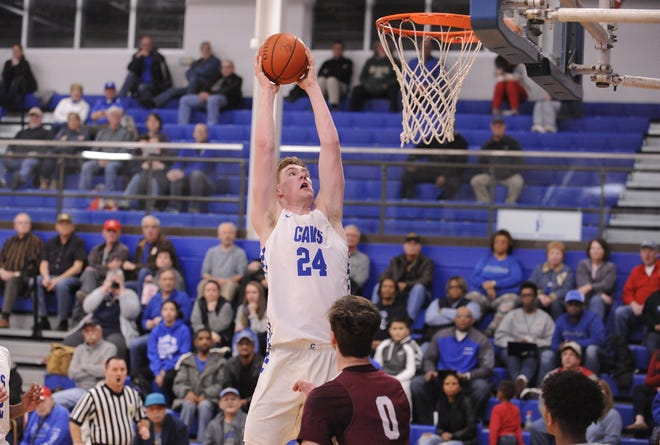 Chillicothe's Brandon Noel dunks the ball during a game against Canal Winchester. Noel earned the Division I Southeast District's Player of the Year award on Friday.