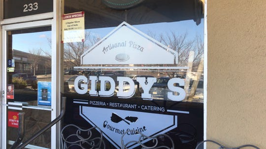 Among the 16 speciality pizza offerings at Giddy's Pizzeria & Restaurant in East Brunswick is a popular vegan cheese pie with house pizza sauce.