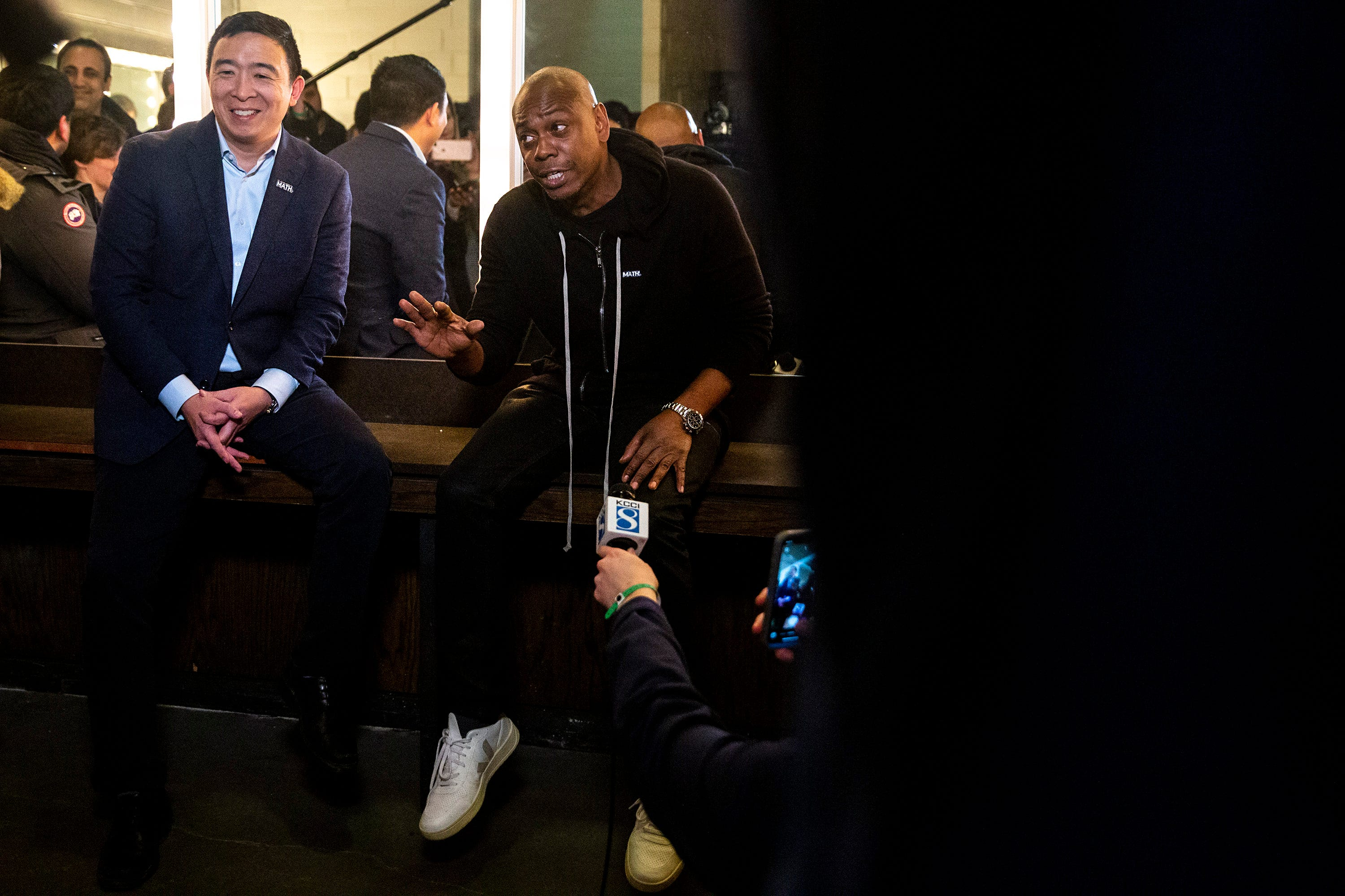 Dave Chappelle is showing out for Andrew Yang in Iowa: Here s why he s a  Yang Gang  member