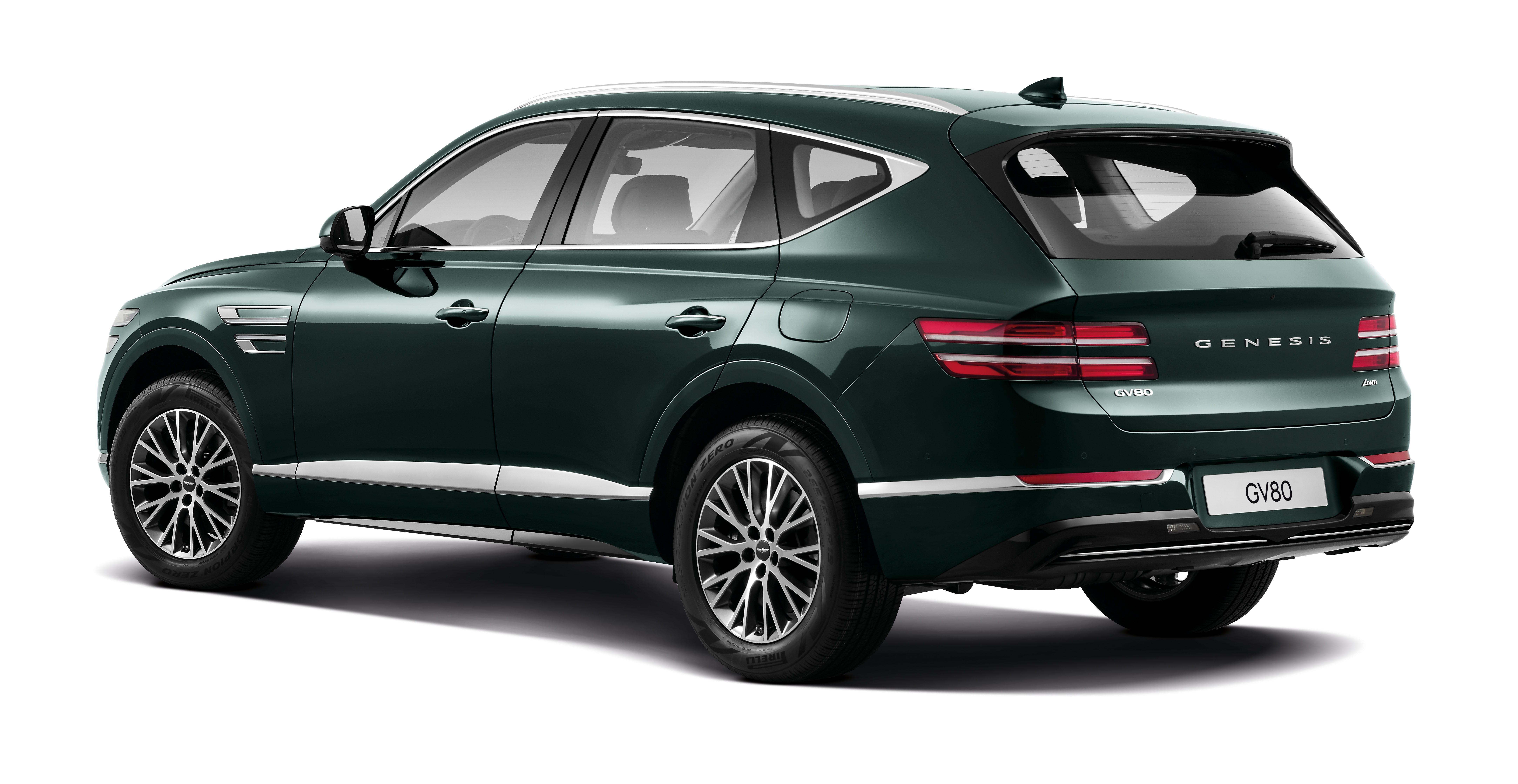 2021 Genesis Gv80 Luxury Suv Can Learn Your Driving Style And Mimic It